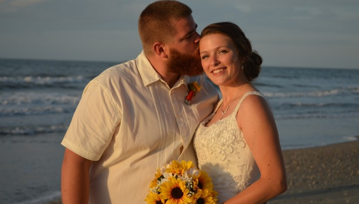 Myrtle Beach Sunrise Wedding